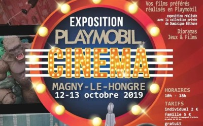 Les Playmobil ® font leur cinéma à Magny le Hongre Les 12 et 13 octobre