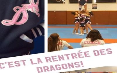 Les Dragons cheerleaders du Val d'Europe recrutent pour ses équipes de Cheerleading