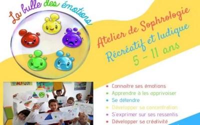 Ateliers de sophrologie pour enfants à Chanteloup-en-Brie à partir du 2 Octobre 2019