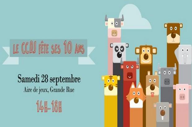 Magny le Hongre ► Après-midi jeux pour les 10 ans du CCDJ le 28 septembre