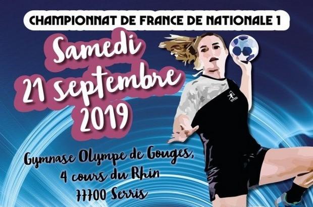 Serris ► Championnat de France, le programme du HBS Serris VE le 21 septembre