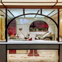Ouverture de Pazzi,  première pizzeria 100% automatisée au Val d'Europe