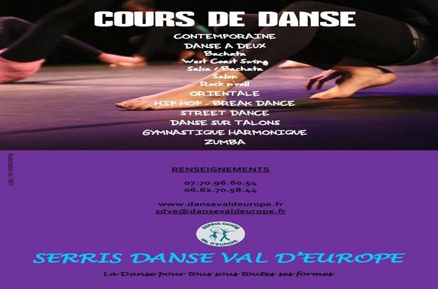 Serris ► Cours, soirée dansante, bourse aux vêtements, l'agenda de Danse du Val d'Europe