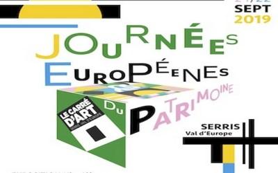 Serris ► Journées Européennes du patrimoine au Carré d'Art Les 21 et 22 septembre