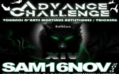 la Team Advance organise une compétition d'Arts Martiaux Artistiques et acrobatiques