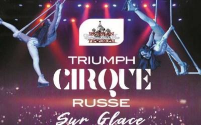 Le grand cirque de Russie sur glace à l' Espace Charles Vanel de Lagny sur Marne