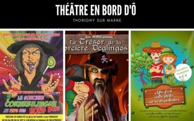 LeThéâtre En bord d'Ô propose du choix de spectacles enfants à la Toussaint