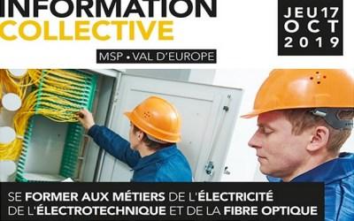 Matinée d'information à La Maison des Services Publics de Val d'Europe le 17 octobre