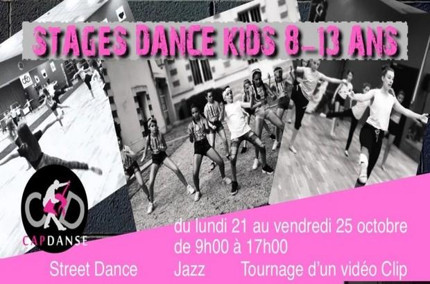 Chessy ► Stage Street Danse Kids proposé par Capdanse du 21 au 25 octobre 2019