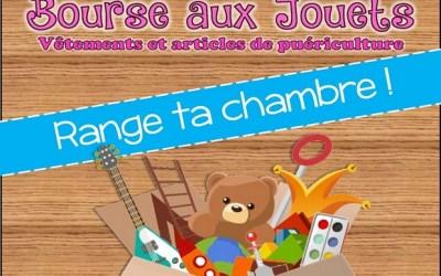 Une bourse aux jouets organisée au profit du Téléthon à l'espace j-j Litzler à Esbly