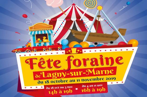 Fête Foraine  au Square Paul Tessier et Bords de Marne à Lagny sur Marne