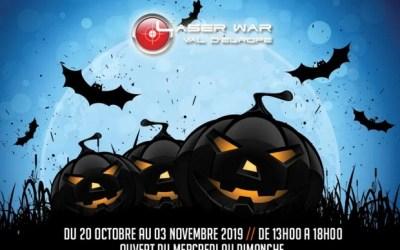Fêter Halloween au Laser War Val d'Europe du 20 octobre au 3 novembre 2019
