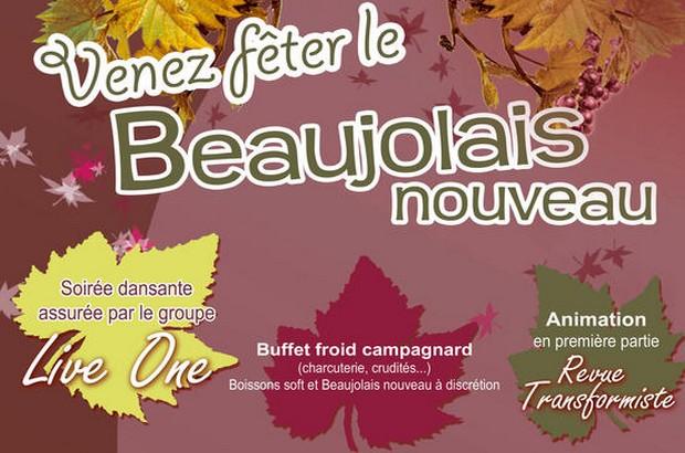 Venez célébrer le Beaujolais Nouveau à Magny le Hongre samedi 23 novembre