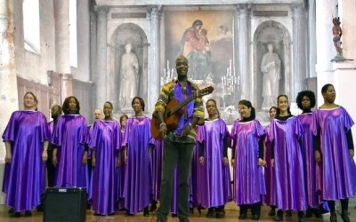 Saint-Germain sur Morin ► Les Gospel Fire en concert à l'église de Saint Germain