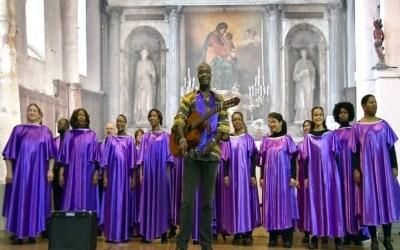 Saint-Germain sur Morin ► Les Gospel Fire en concert à l'église de Saint Germain