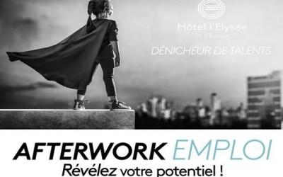 Afterwork emploi au Bar le Diplomate à l'Hôtel Elysée Val d'Europe le 10 octobre
