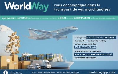 WorldWay, installée à Esbly vous aide à envoyer vos colis partout dans le monde