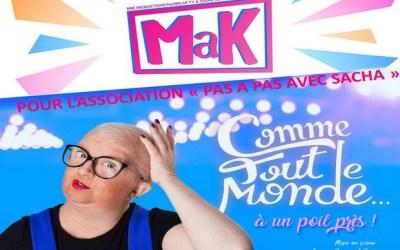 """Mak dans """"Comme tout le monde à un poil près"""" au Centre Culturel Marc Brinon"""