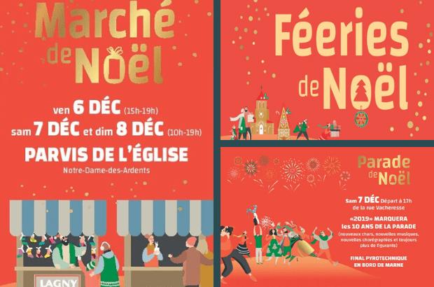 Le Marché et le programme des Fééries de Noël de Lagny sur Marne