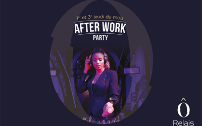 Afterwork Party au Ô Relais Bar – Relais Spa Val d'Europe jeudi 21 novembre