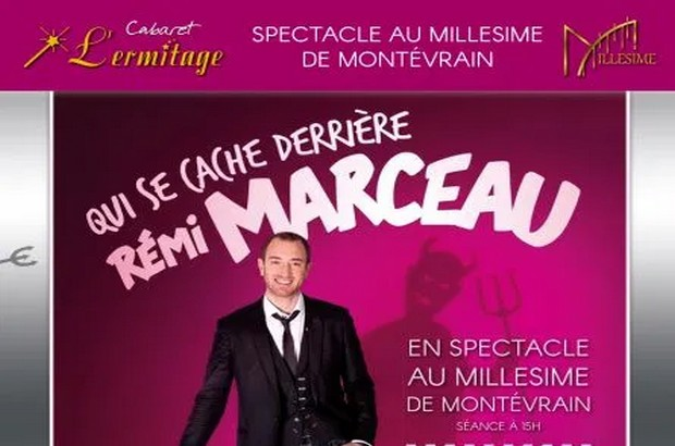 Spectacle de Remi Marceau au Millésime de Montevrain le 26 janvier 2020