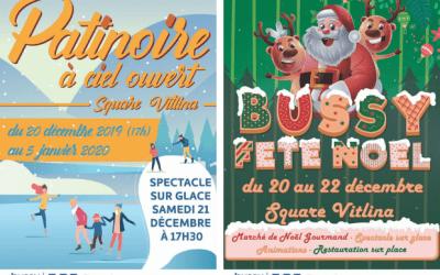 Bussy Saint Georges : Les festivités de Noël sont de retour au square Vitlina