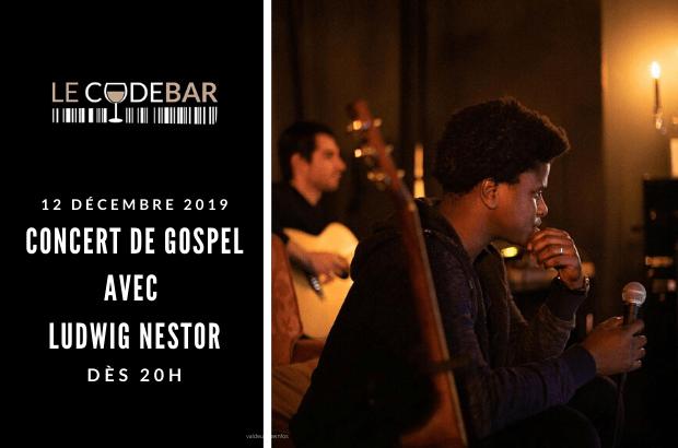 Le Code Bar de Magny organise une soirée concert Gospel avec Ludwig Nestor