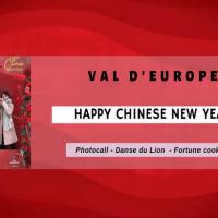Fêtez le Nouvel An Chinois au Centre commercial du Val d'Europe le 25 janvier 2020