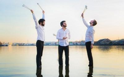"""Concert """"Alors, on danse ?"""" du Trio SR9 à trois marimbas à la Ferme de Corsange"""