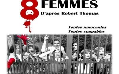 """Bailly-Romainvilliers : Soirée Théâtre """"8 femmes"""" au profit de l'UNICEF le 8 février 2020"""