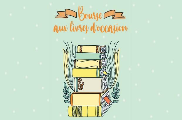 Bourse aux livres d'occasion dimanche 12 janvier dans la Salle Serge Goudailler