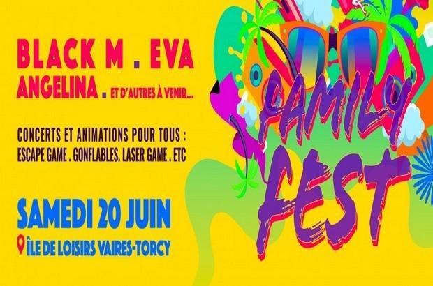 [REPORTÉ] Family Fest, festival dédié aux familles, le 20 juin sur la base de loisirs de Vaires-Torcy.