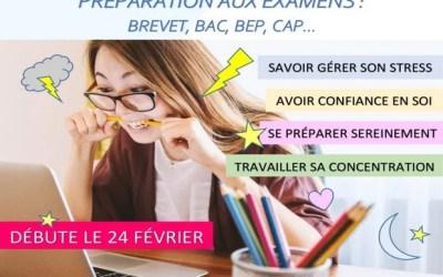 Bailly-Romainvilliers : Ateliers de Sophrologie pour la « Préparation aux examens »