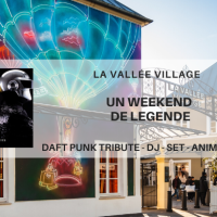 Surprises et animations pour un week-end de légende à La Vallée Village