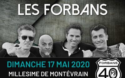 Concert des Forbans au Millésime de Montevrain le dimanche 17 mai 2020