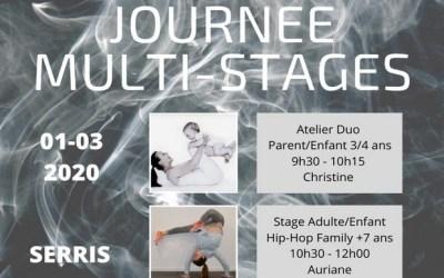 Journée Multi-stages de danse organisée par Serris danse du Val d'Europe le 1 mars 2020