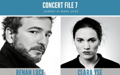 [REPORTÉ] Magny le Hongre : Concert Renan Luce et Clara Ysé au File 7
