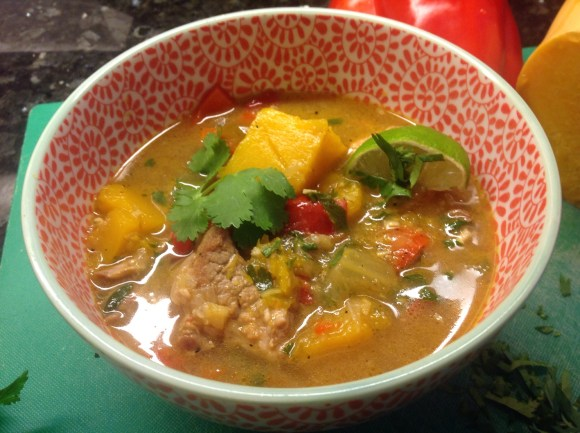 Winter Asian pork stew
