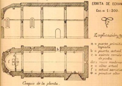 La ermita de Echano