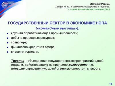Формирование командной административной системы 1920 ...