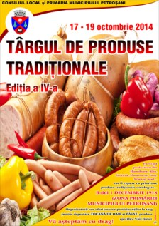targul traditional de toamna