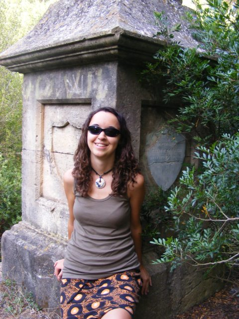 Agnes in Denia Cemetery