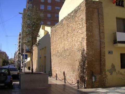 vilareal town wall