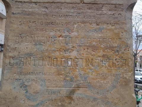 monument inscription