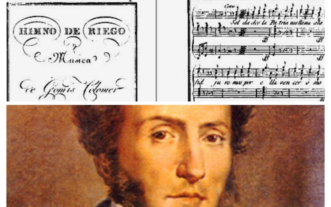 ¿Sabías que un valenciano es el compositor del Himno de Riego, el primer himno oficial de España?