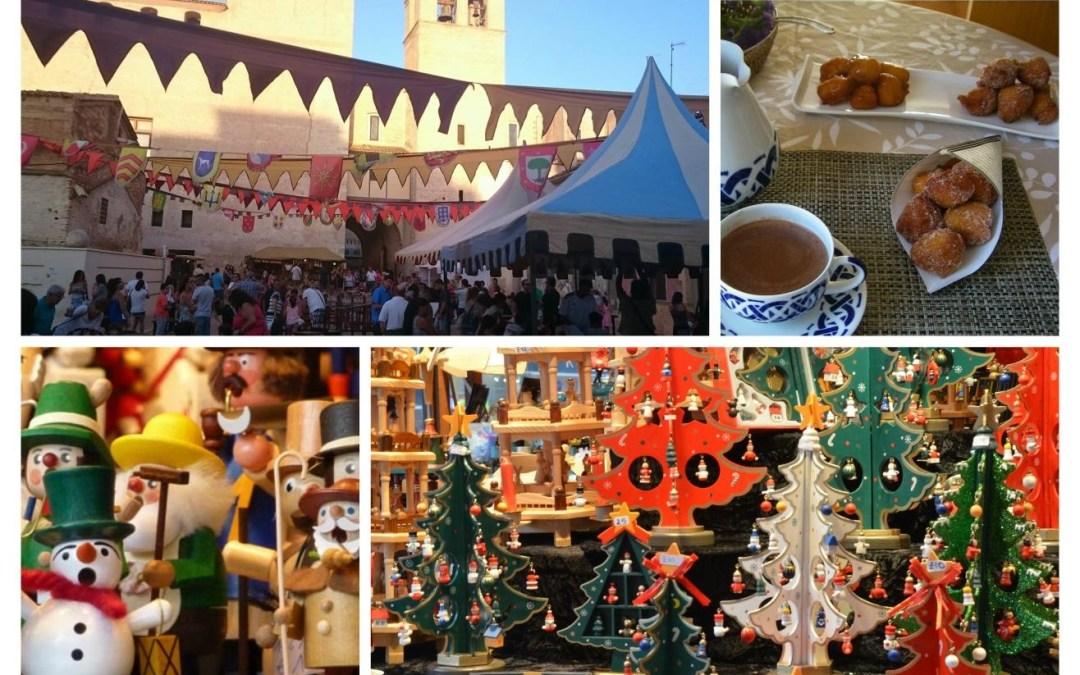 Programación Mercados de Navidad y Mercados Medievales en Valencia en Diciembre
