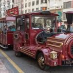 El trenet de Nadal regresa por Navidad para recorrer las calles del centro de Valencia