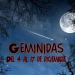 Lluvia de meteoros: Gemínidas, la mejor del año (Del 4 al 17 de diciembre)