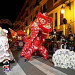 La tradicional Cabalgata de Valencia del Año Nuevo Chino será el 6 de febrero de 2016