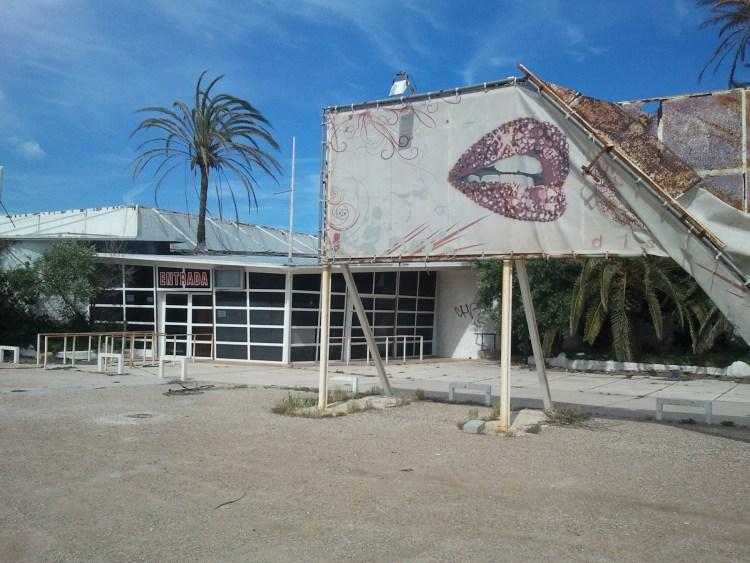 Foto de la discoteca en 2013. Fuente: porqueelpasadoexiste.blogspot.com